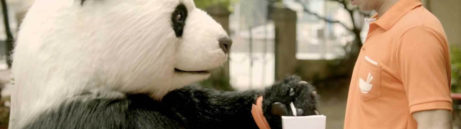 Screencap of Foodpanda TVC in India