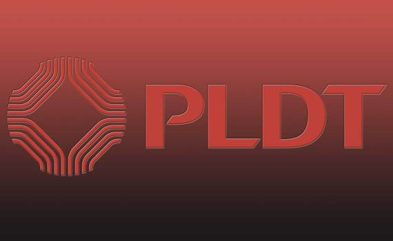 pldt logo in red