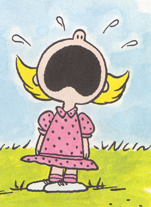 Sally Brown wailing