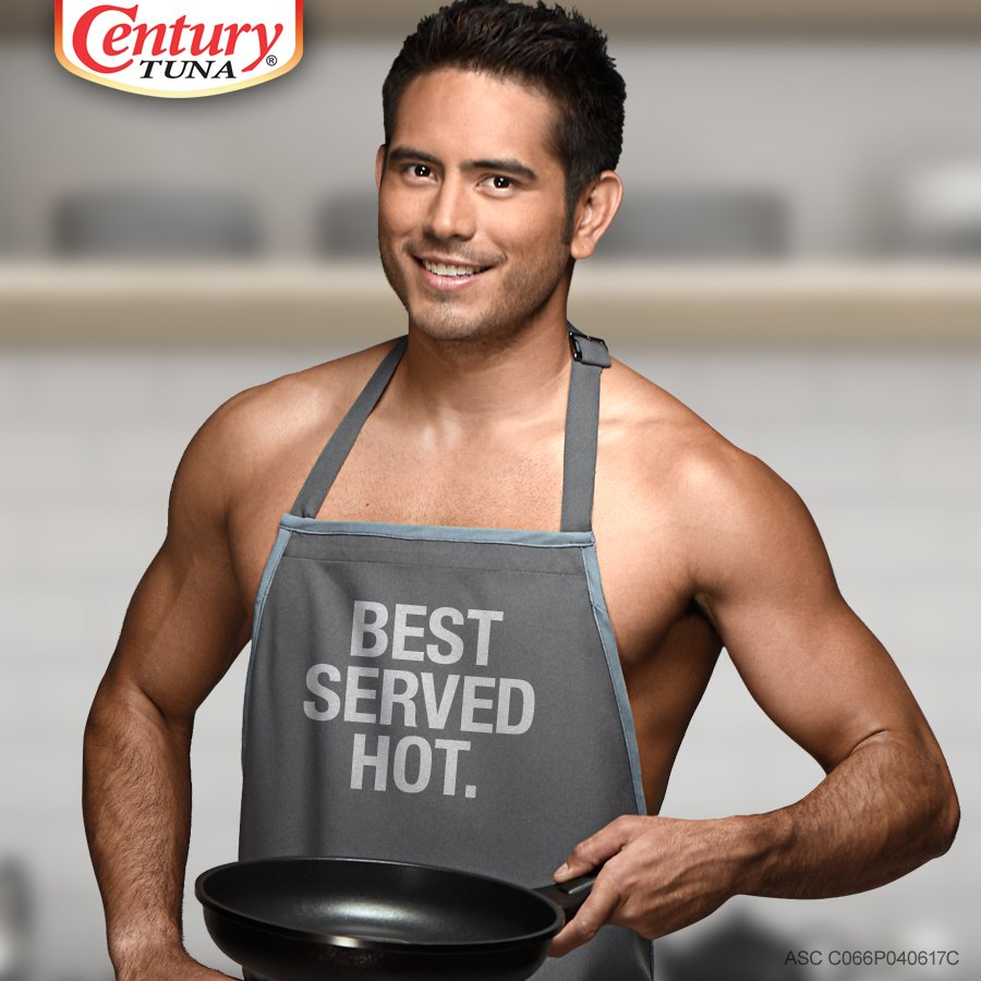 Gerald Anderson for Century Tuna - my recipe to sexy