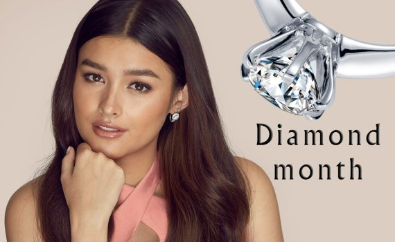 Liza Soberano and MyDiamond