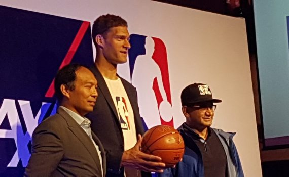 NBA and AXA join forces
