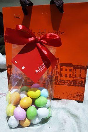 Villa del Conte chocolates to go