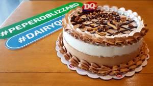 Dairy Blizzard Pepero Blizzard Ice Cream Cake
