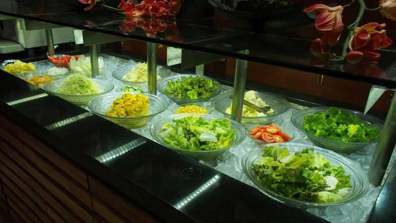 Katsu Sora's salad buffet bar