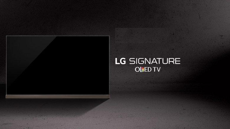 77 inch LG Signature OLED TV
