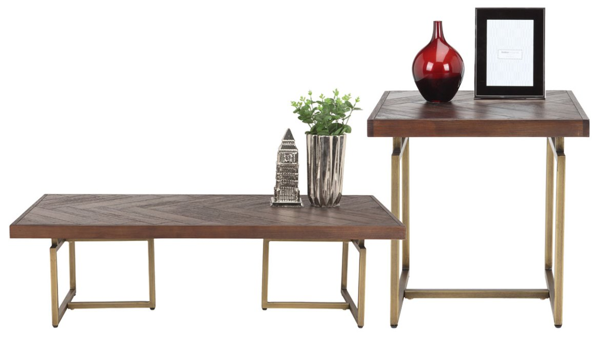 Linton coffee table and side table from the Modern American collection