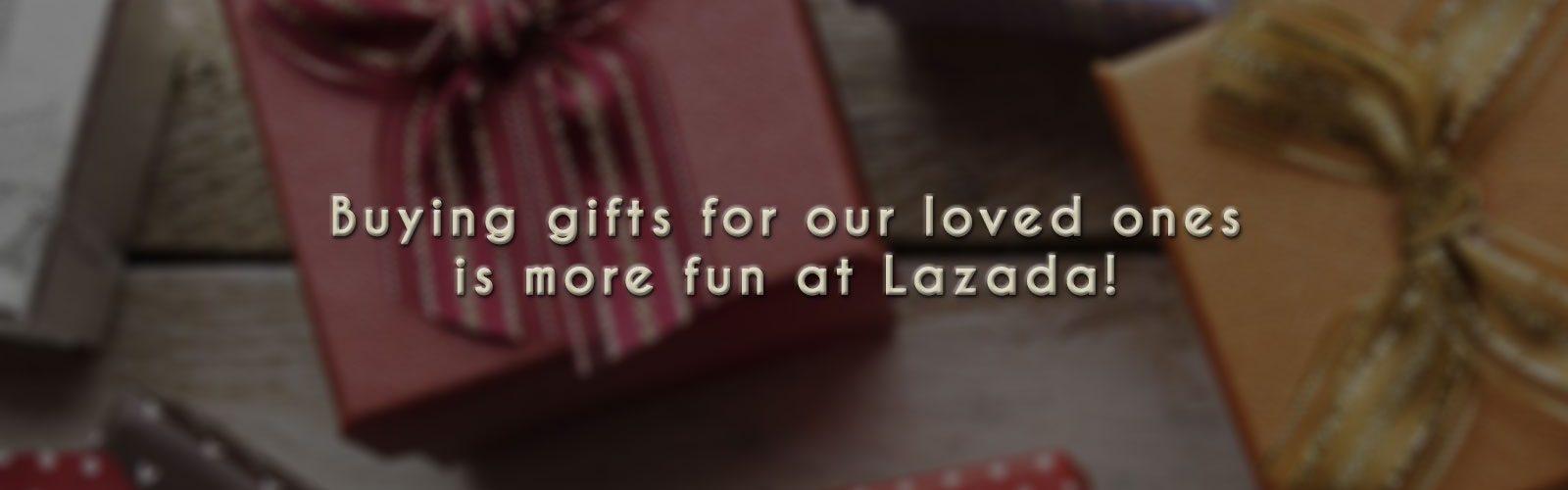 Shopping at Lazada