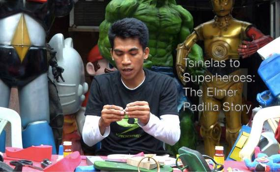 Tsinelas to superheroes: the elmer padilla story