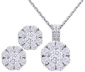 MyDiamond Rosita earrings and pendant