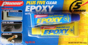 Pioneer Epoxy Plus Five Clear