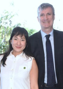 Audrey Belle Po and Christopher Vicic of Philippine Green Building Council