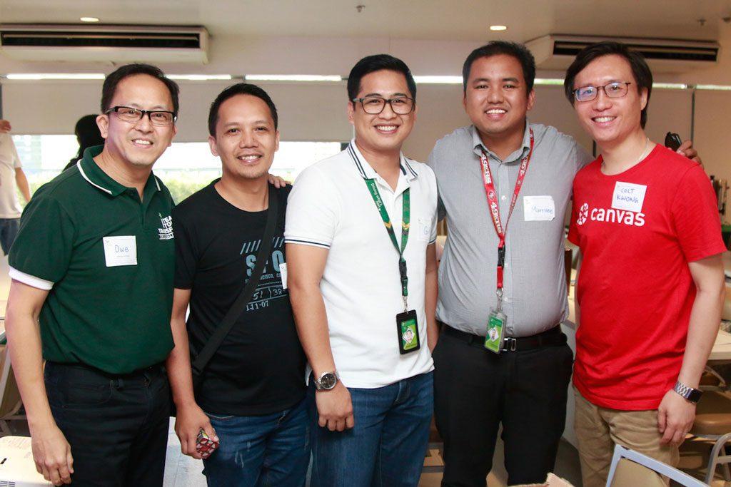 Representatives of De La Salle Lipa