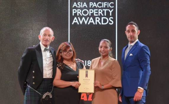 Asia Pacific Property Awards 2018 winner