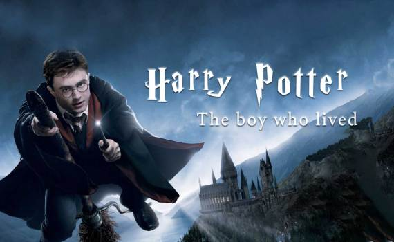 Harry Potter, the boy who lived