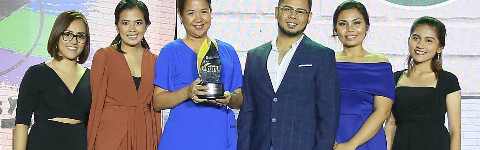 Essilor Eye Can Succeed campaign wins award at the 16th Philippine Quill Awards.