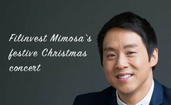 filinvest mimosa's festive Christmas concert
