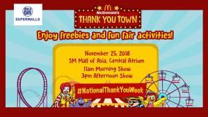McDonald's Thank You Town