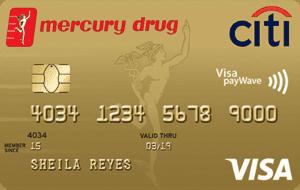 mercury drug citi card