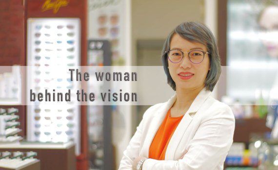 Joy Go of Ideal Vision Center
