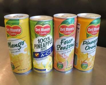 Del Monte fruit juices