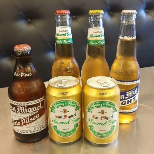 San Miguel beers