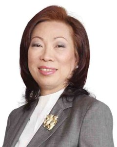 Josephine Gotianun-Yap, President and CEO of Filinvest Development Corp.