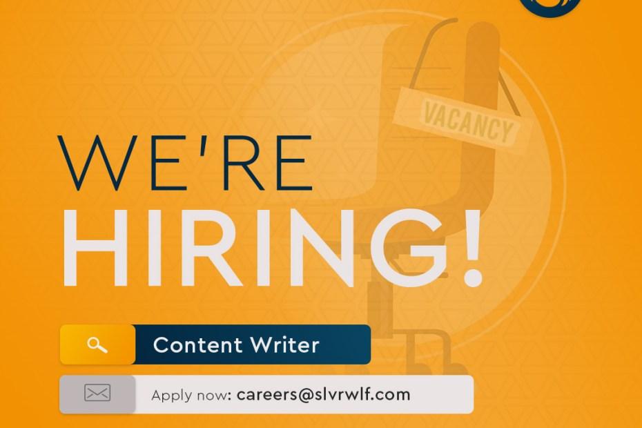 Content Writer job graphic
