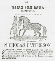 Race Horse Tavern 1854