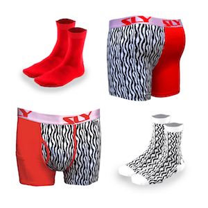 urban zoo cotton trunks and socks pack