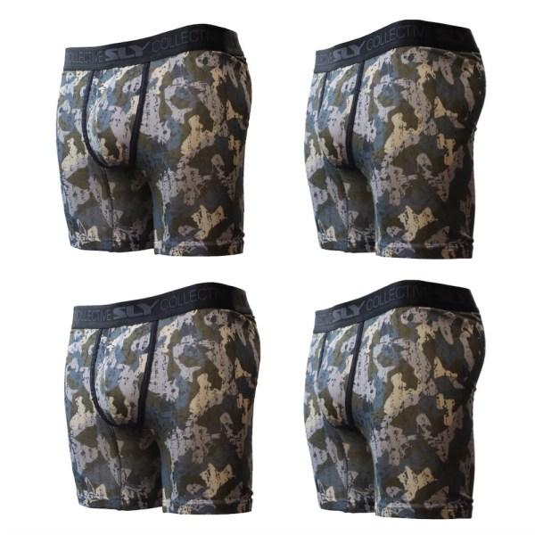4 pack camo boxer briefs