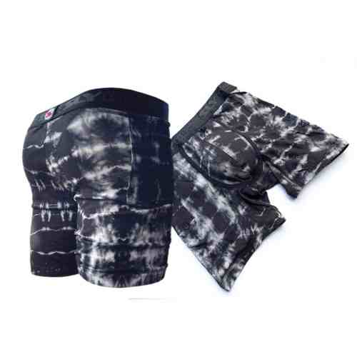 black tie dye boxer briefs 2 pack