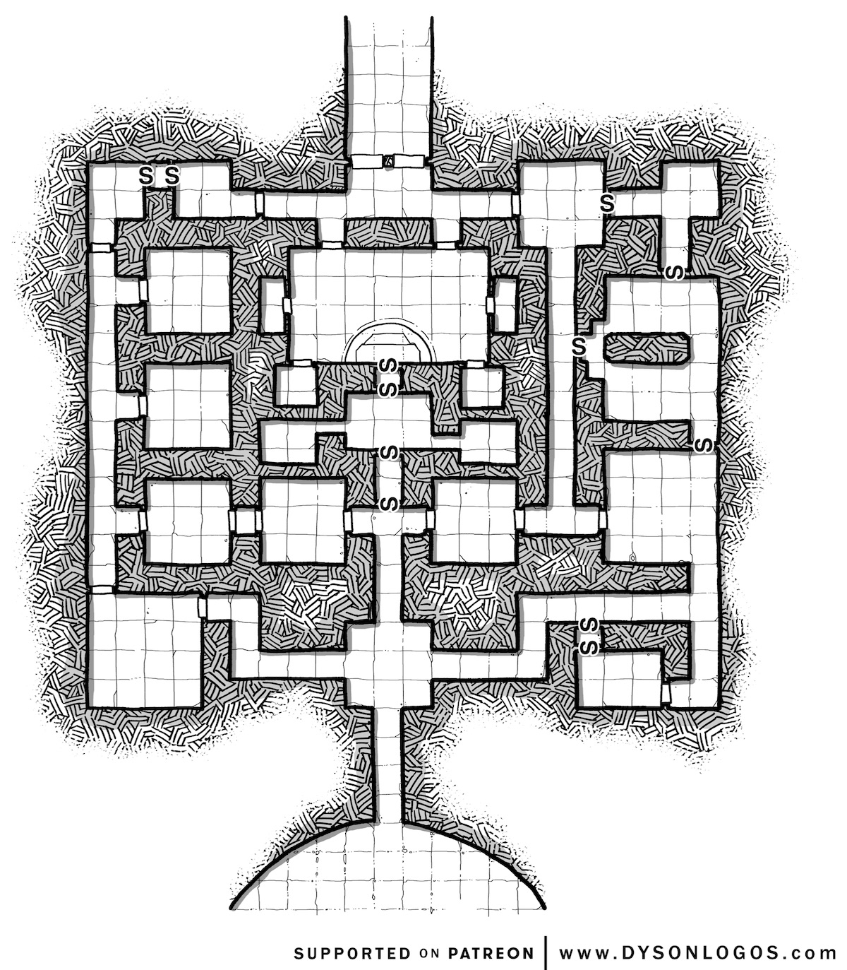The Only Dungeon Map You'll Ever Need: Sly Flourish