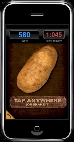 Let the sky rain Potatoes.
