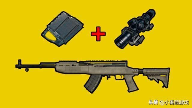 """""""吃雞""""裏最難進行壓槍的武器。同樣是5.56子彈。它的難度卻翻倍 – 遊戲內參"""