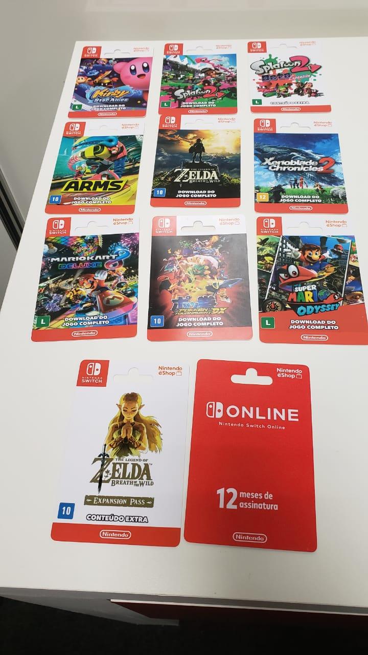 BGS 2018   Nintendo Switch lança cartões pré-pagos de games no Brasil