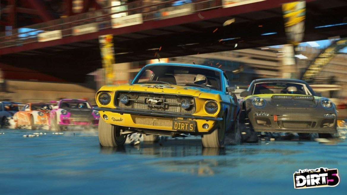 DIRT 5 también será juego de lanzamiento en PS5