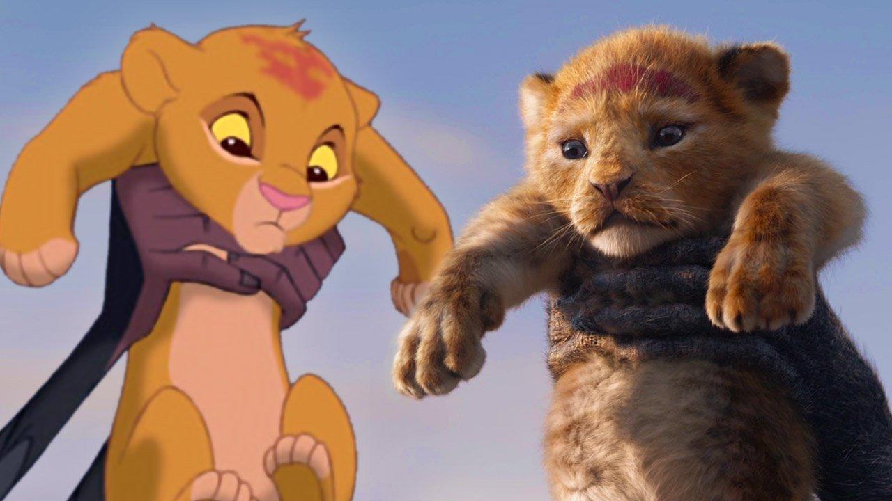 the lion king photorealism