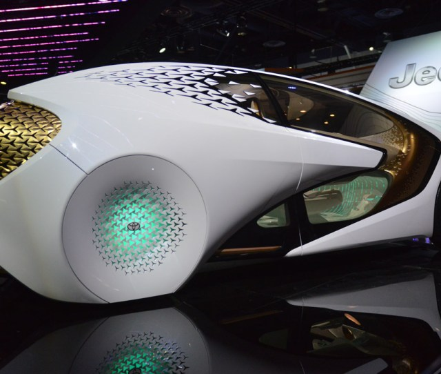 Ces  Cool Concept Cars From Kia Nissan Mercedes And Toyota Technology