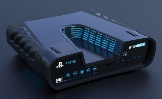 Ps5 3d Renders Surface After Patent Leak