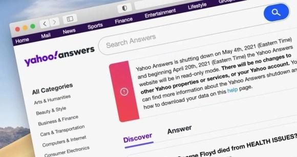Yahoo Respostas chega ao fim em maio