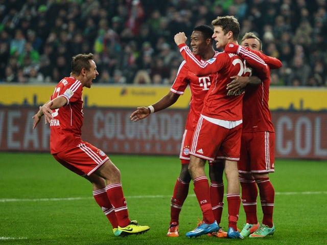 Result Bayern Munich Ease Past Borussia Monchengladbach
