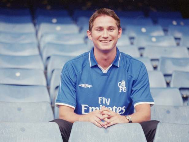 Image result for frank lampard 2001
