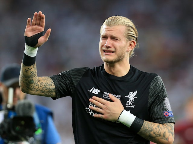 Image result for loris karius champions league