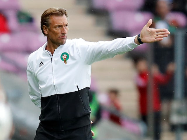 Morocco manager Herve Renard on May 31, 2018