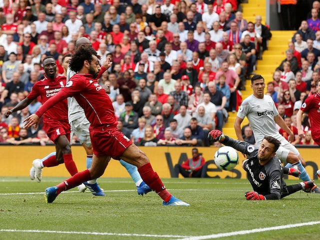 Image result for liverpool vs west ham