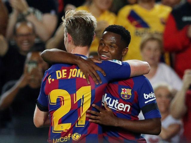 Barcelona Team News Injury Suspension List Vs Inter