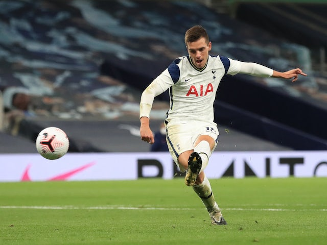 Tottenham Hotspur midfielder Giovani Lo Celso pictured on October 1, 2020