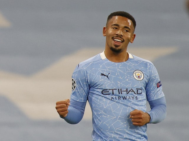 Result: Gabriel Jesus makes goalscoring return as Man City cruise past  Olympiacos - Sports Mole