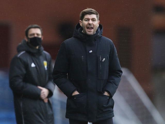 Rangers manager Steven Gerrard pictured on November 22, 2020